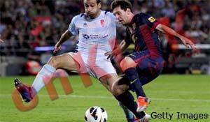 Barcelona VS Granada (2-0)