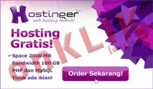 idhostinger Hosting Gratis Handal