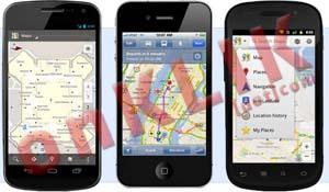 Google Maps di iOS 6