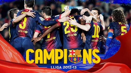 Madrid Imbang, Barcelona Juara Liga