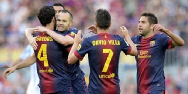 Barcelona Samai Rekor 100 Poin Madrid